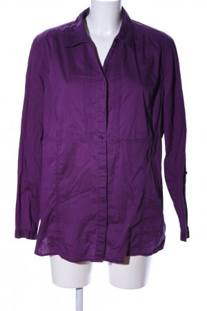 Cecil Long-Bluse lila Casual-Look