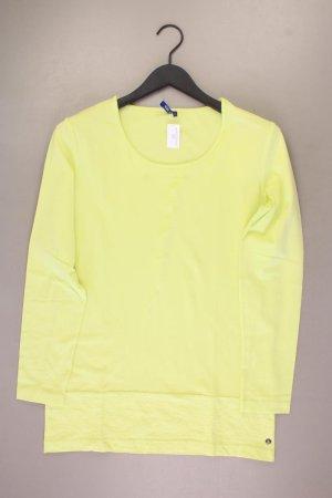 Cecil Longsleeve-Shirt Größe L neuwertig Langarm gelb aus Baumwolle