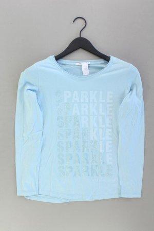 Cecil Longsleeve-Shirt Größe S Langarm blau