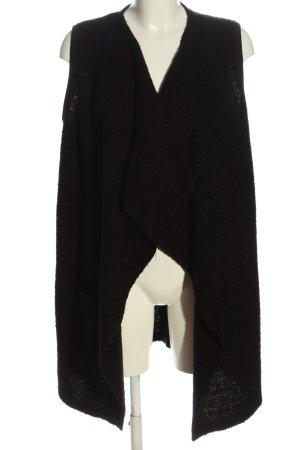 Cecil Lang gebreid vest zwart casual uitstraling