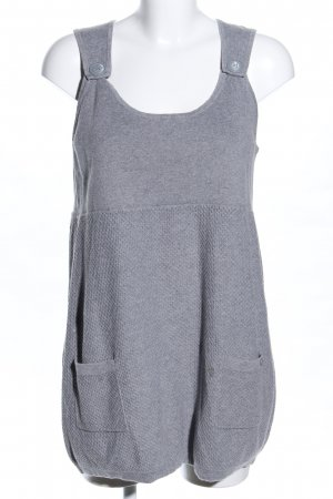 Cecil Long Top light grey flecked casual look
