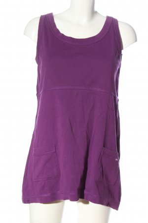 Cecil Lange top lila casual uitstraling