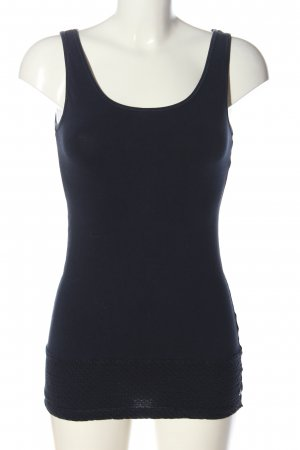 Cecil Lange top blauw casual uitstraling