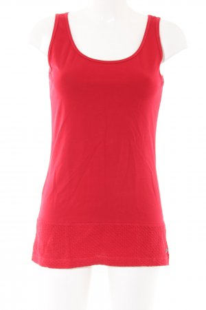 Cecil Long Top red casual look