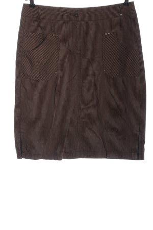 Cecil Minifalda marrón estampado repetido sobre toda la superficie look casual