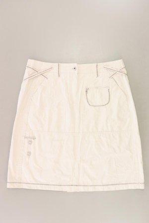 Cecil Midirock Größe W34 creme aus Baumwolle