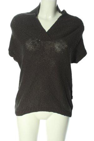 Cecil T-shirts en mailles tricotées gris clair torsades style décontracté