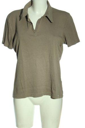 Cecil Polo-Shirt braun Casual-Look