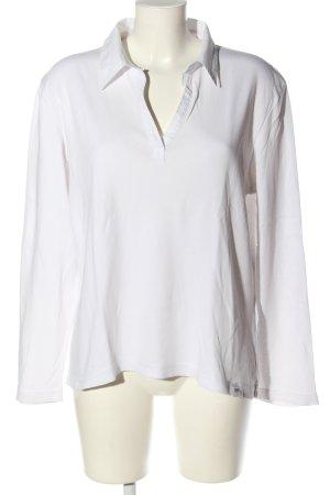 Cecil Polo-Shirt weiß Casual-Look