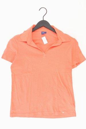 Cecil Poloshirt Größe L Kurzarm orange aus Baumwolle