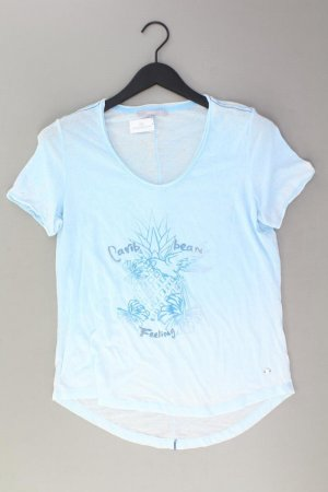 Cecil Print Shirt blue-neon blue-dark blue-azure