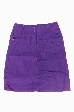 Cecil Skirt lilac-mauve-purple-dark violet cotton