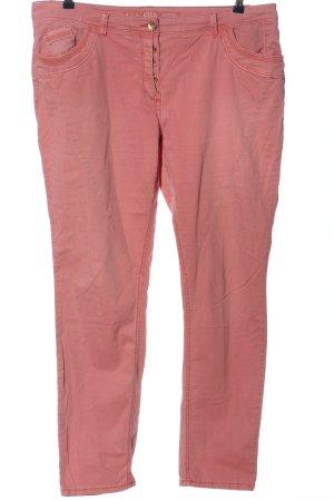 Cecil Röhrenhose pink Casual-Look