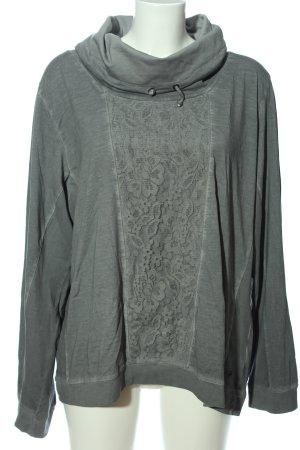 Cecil Maglia a collo alto grigio chiaro stile casual