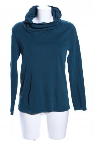 Cecil Colshirt blauw casual uitstraling