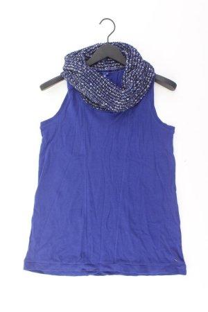 Cecil Neckholder Top blue-neon blue-dark blue-azure cotton