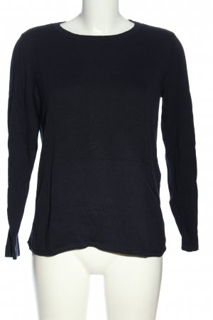 Cecil Kraagloze sweater blauw casual uitstraling