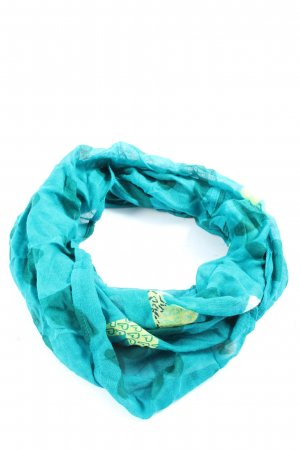 Cecil Snood turquoise-green casual look