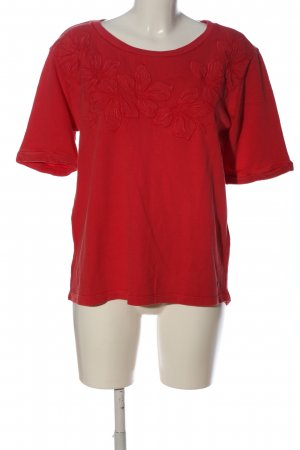 Cecil Schlupf-Bluse rot Blumenmuster Casual-Look