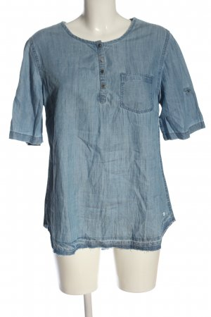 Cecil Slip-over Blouse blue casual look
