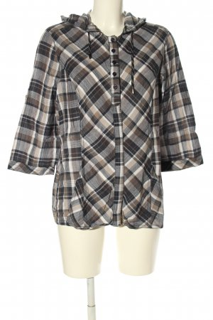 Cecil Schlupf-Bluse Karomuster Casual-Look