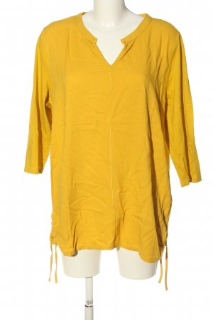 Cecil Slip-over blouse sleutelbloem casual uitstraling