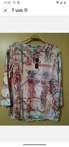 CECIL sehr süße Bluse Tunika mit Patchworkmuster Größe S *NEU