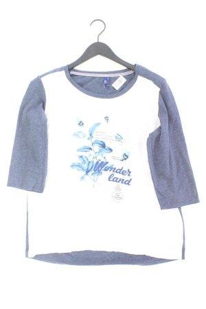 Cecil T-shirt blu-blu neon-blu scuro-azzurro Viscosa