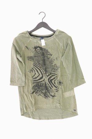 Cecil T-Shirt green-neon green-mint-meadow green-grass green-forest green cotton