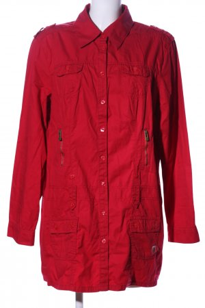Cecil Shirt Jacket red casual look