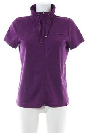 Cecil Shirt Jacket lilac casual look