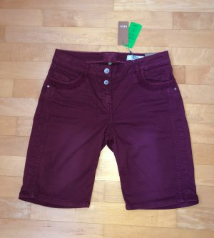 Cecil Pantaloncino di jeans multicolore Cotone