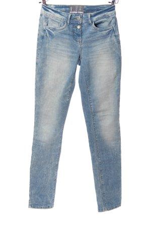 Cecil Skinny Jeans blau Casual-Look