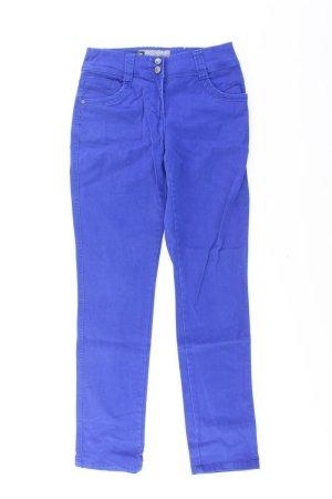Cecil Skinny Jeans blue-neon blue-dark blue-azure cotton