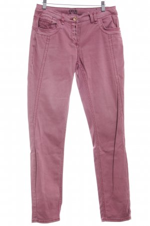 Cecil Skinny Jeans rosa Casual-Look