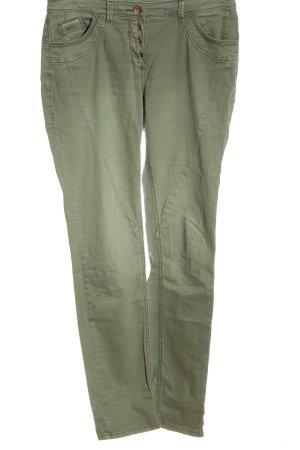 Cecil Slim Jeans khaki Casual-Look
