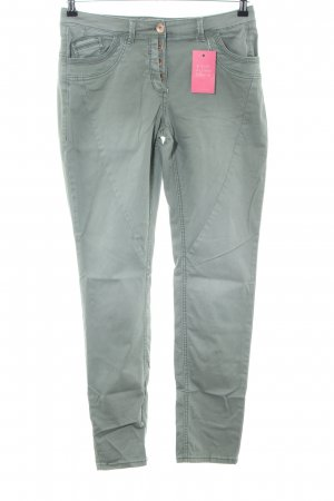 Cecil Slim Jeans khaki Casual-Look