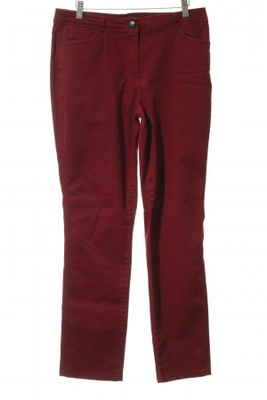 Cecil Slim Jeans dunkelrot Casual-Look