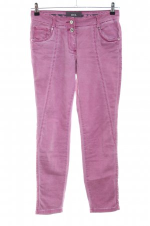 Cecil Slim Jeans pink Casual-Look