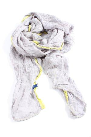 Cecil Chal veraniego gris claro-amarillo pálido look casual