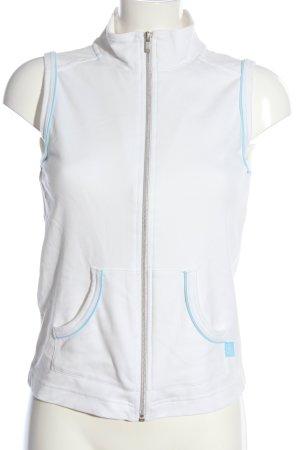 Cecil Smanicato sport bianco-turchese stile casual