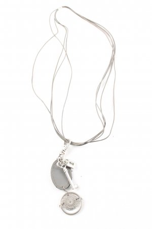 Cecil Statement Necklace silver-colored casual look
