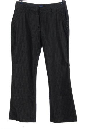Cecil Pantalone jersey nero stile casual