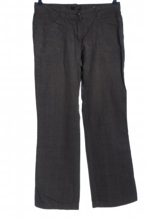 Cecil Jersey Pants light grey striped pattern casual look