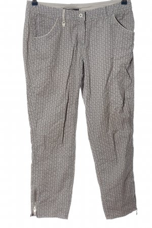 Cecil Stoffhose Allover-Druck Casual-Look