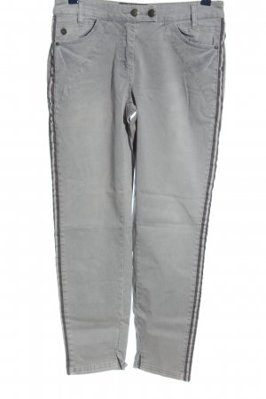 Cecil Jersey Pants light grey casual look