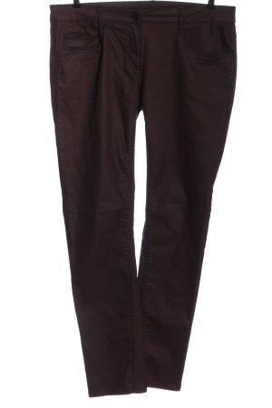 Cecil Pantalone jersey rosso-lilla stile casual