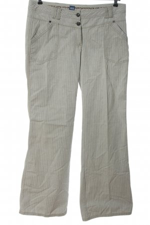Cecil Jersey Pants white-black striped pattern casual look