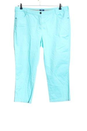 Cecil Stoffhose blau Casual-Look