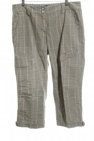 Cecil Stoffhose Karomuster Casual-Look